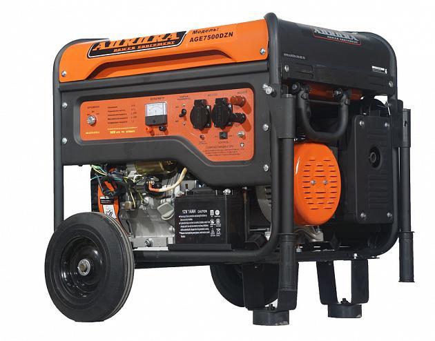 Бензиновый генератор Aurora Age 7500 dzn бензогенератор aurora age 2500