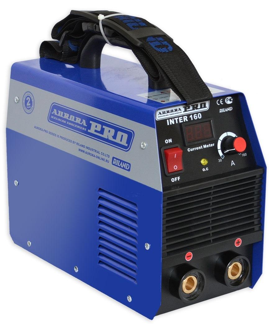 Сварочный инвертор Aurora pro Inter 160 mosfet инверторный сварочный полуавтомат aurora pro overman 200 mosfet 13709