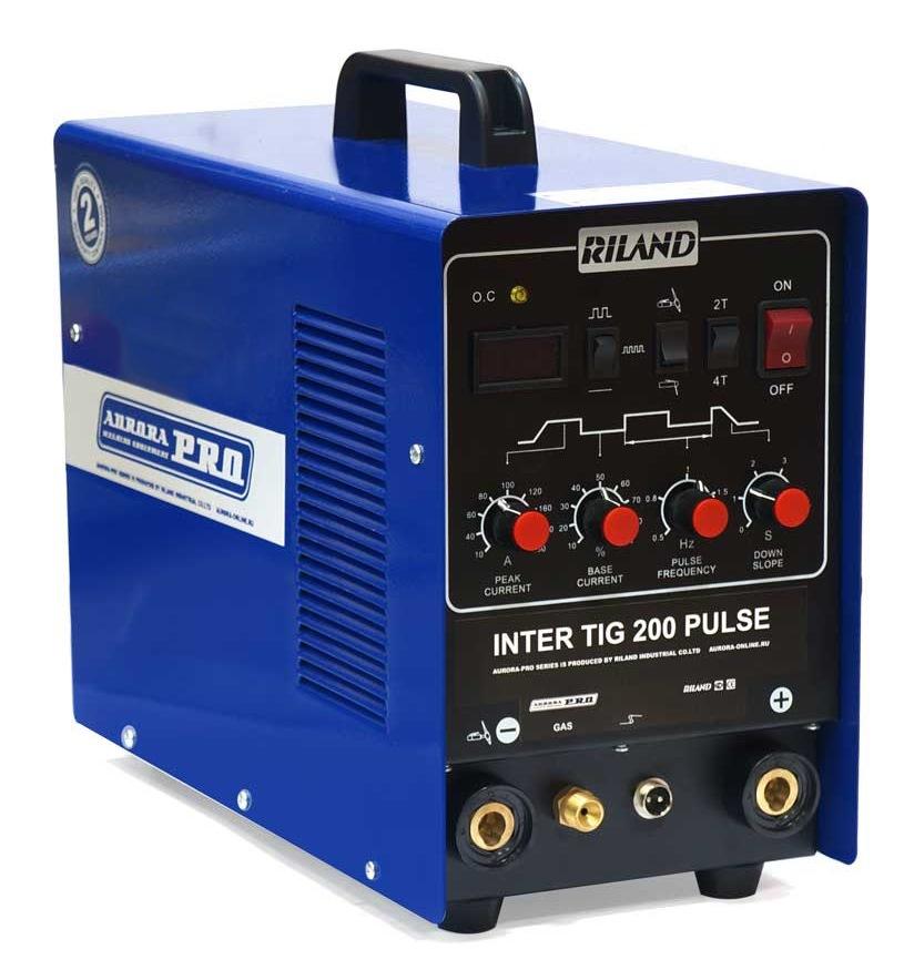 цены Сварочный инвертор Aurora pro Inter tig 200 pulse mosfet