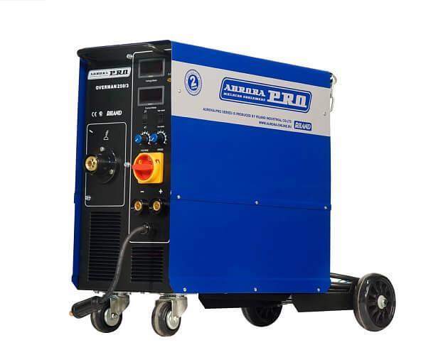 Сварочный полуавтомат Aurora pro Overman 250/3 mosfet инверторный сварочный полуавтомат aurora pro overman 200 mosfet 13709