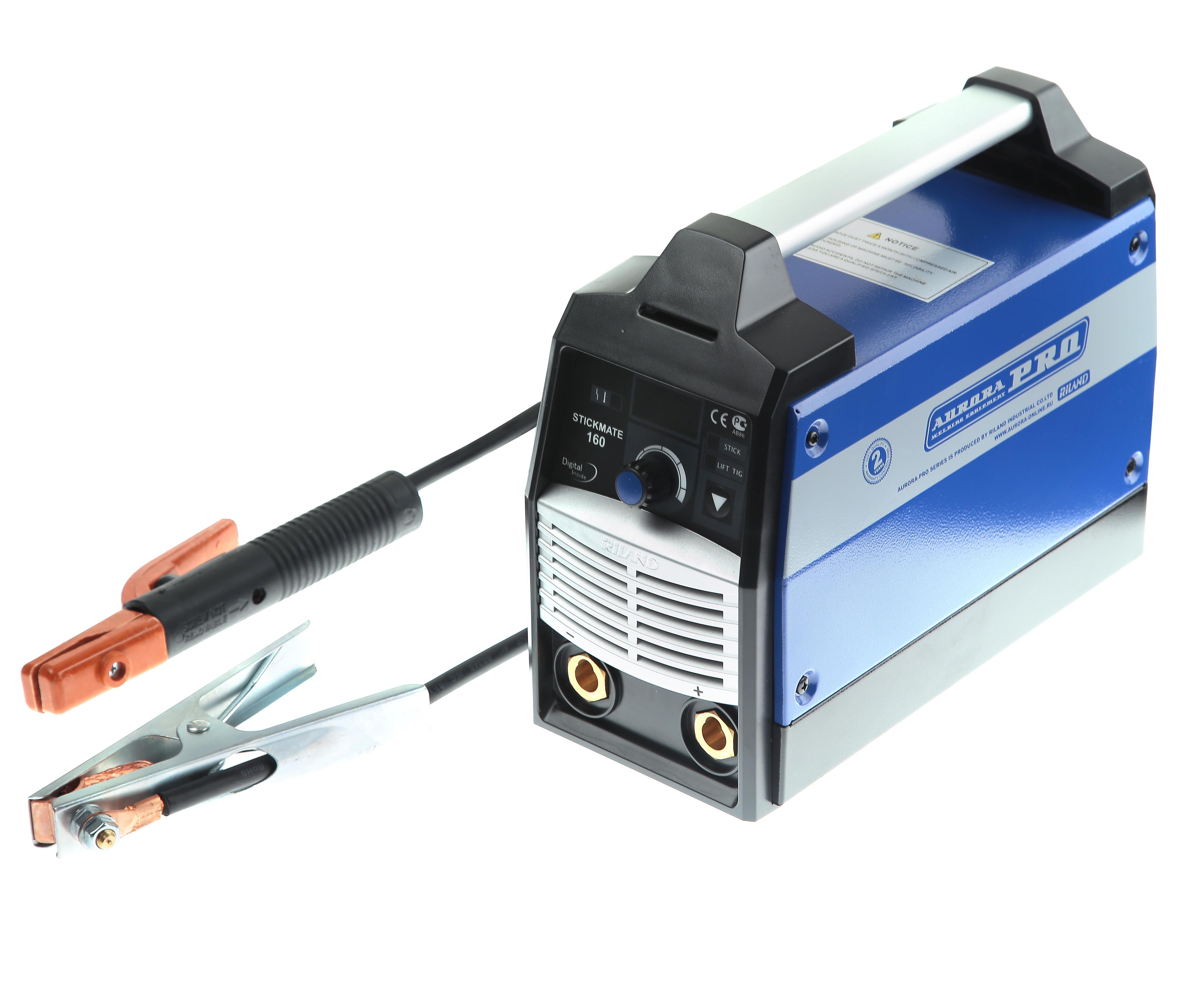 Сварочный инвертор Aurora pro Stickmate 160 igbt сварочный инвертор rucelf igbt 160 00002052