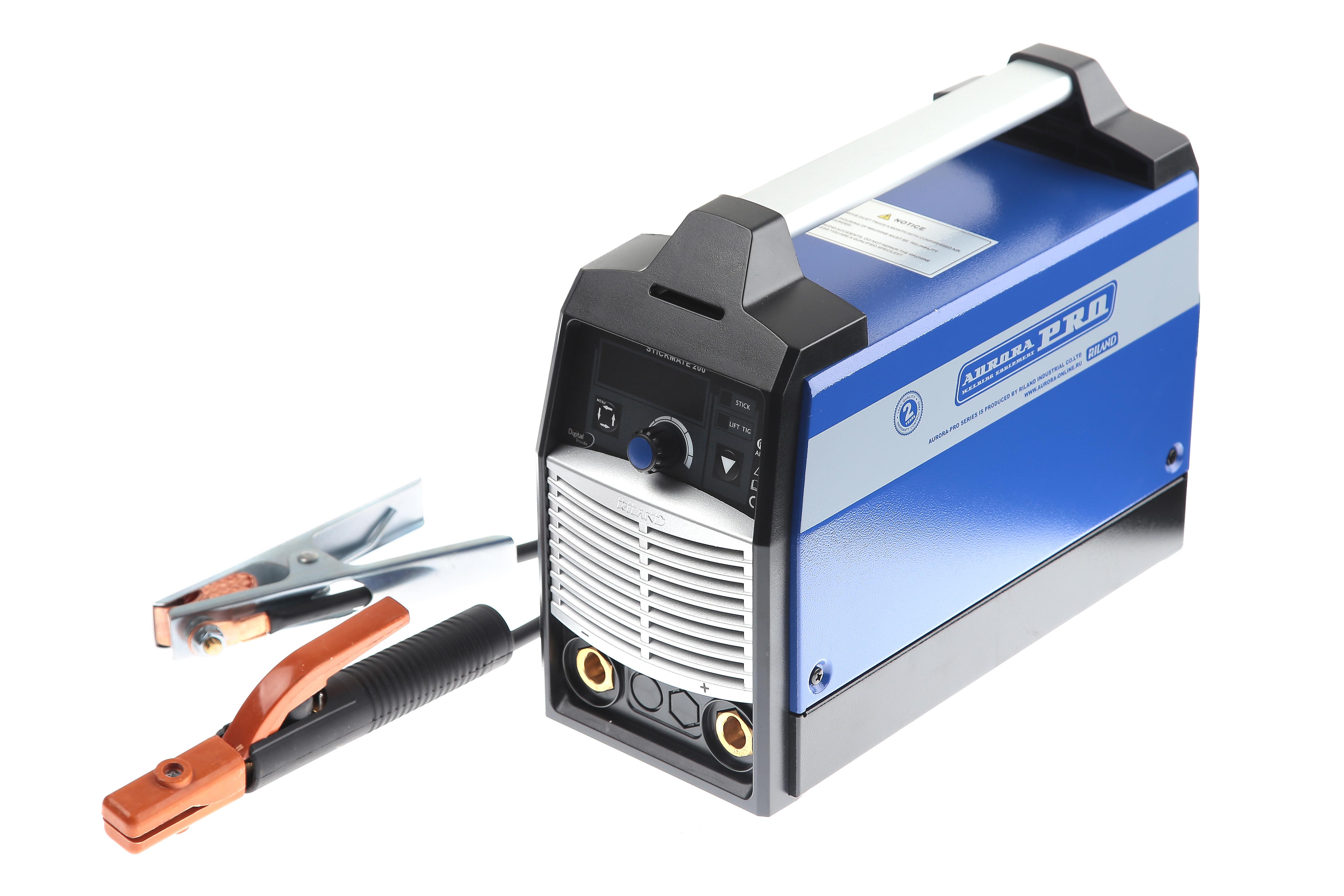 Сварочный инвертор Aurora pro Stickmate 200 сварочный аппарат aurora ultimate 300