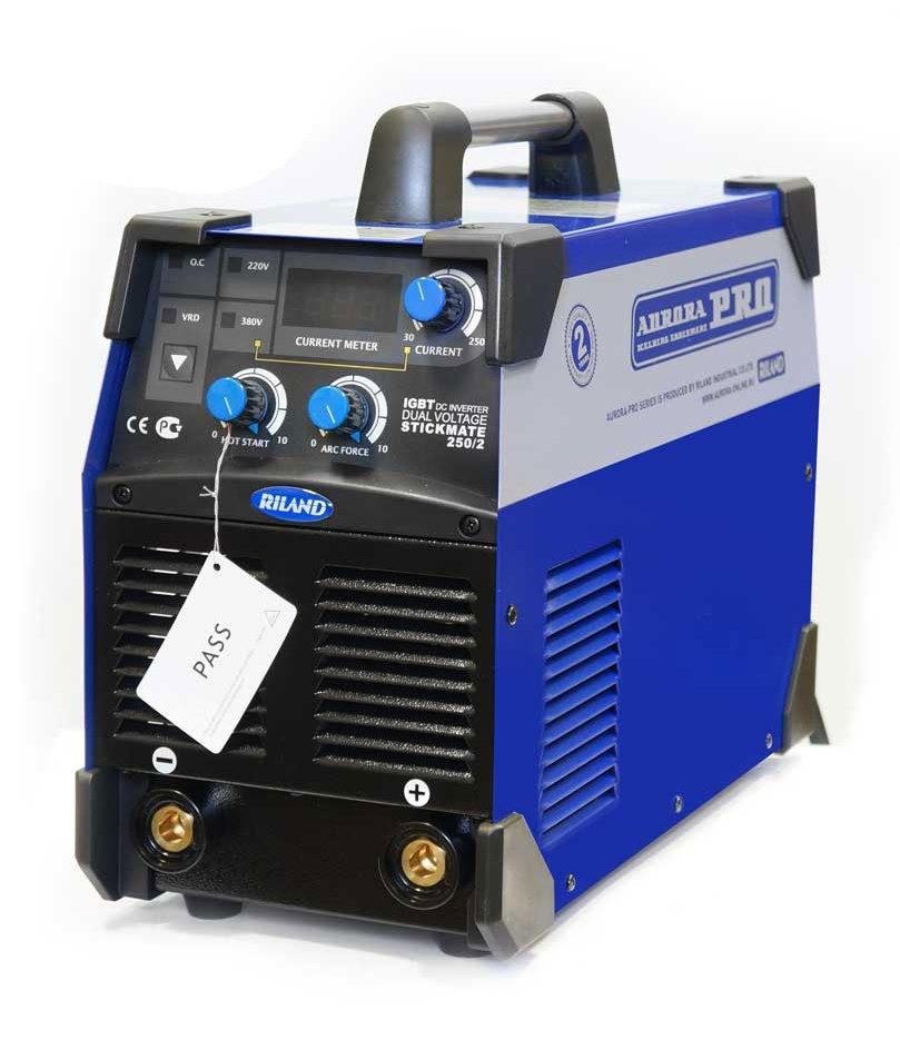 Сварочный инвертор Aurora pro Stickmate 250/2 igbt сварочный инвертор aurora pro stickmate 160 igbt 10027