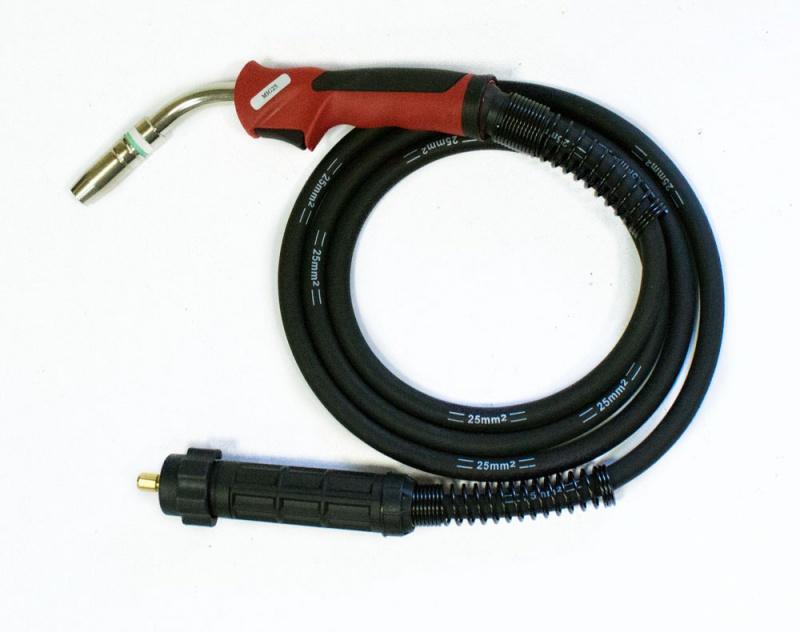 Горелка сварочная Aurora Mig 25 air cool 230a(60%) euro