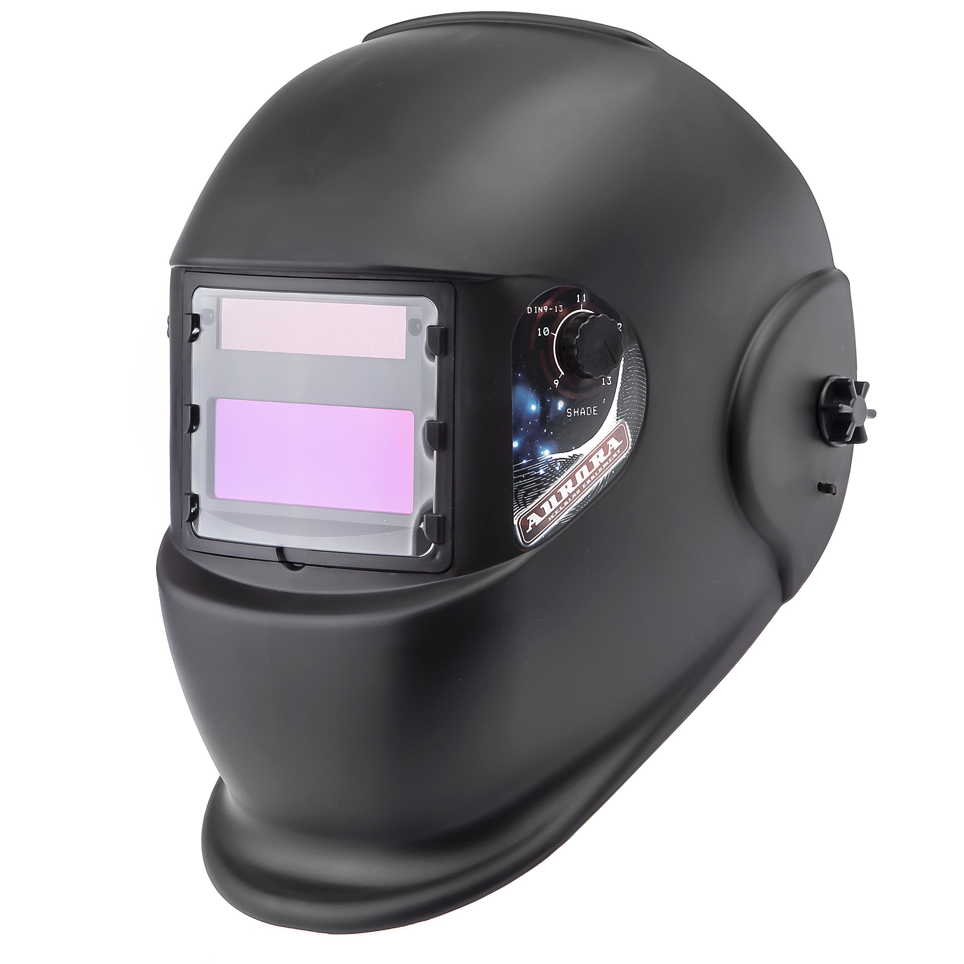 Маска сварщика хамелеон Aurora A998f(9-13din) black cosmo маска сварщика aurora хамелеон sun7 chain 14724