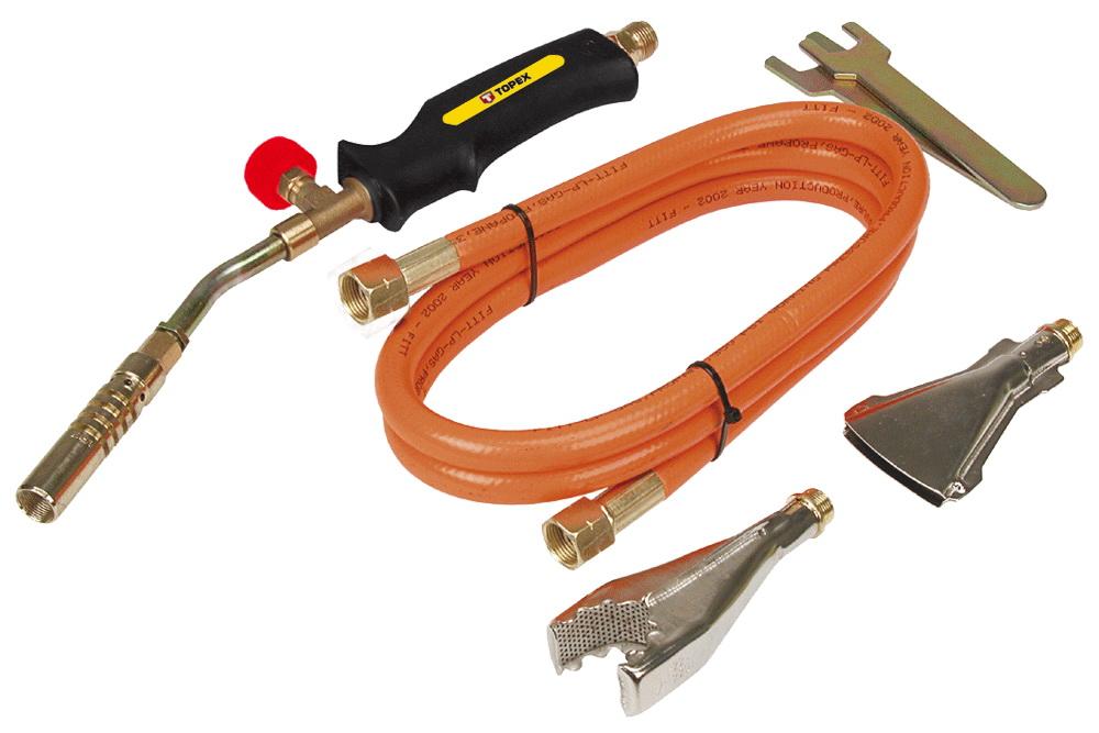 Горелка газовая Topex 44e111 газовая горелка dayrex 44 628915