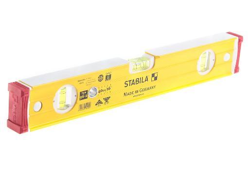 Уровень пузырьковый STABILA 15225 тип 96-2  400мм, 3 глазка