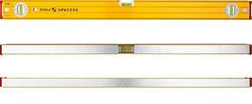 Уровень пузырьковый Stabila 15226 тип 96-2  600мм, 3 глазка магнитный уровень stabila 200 см 2 глазка тип 80 ам усиленный