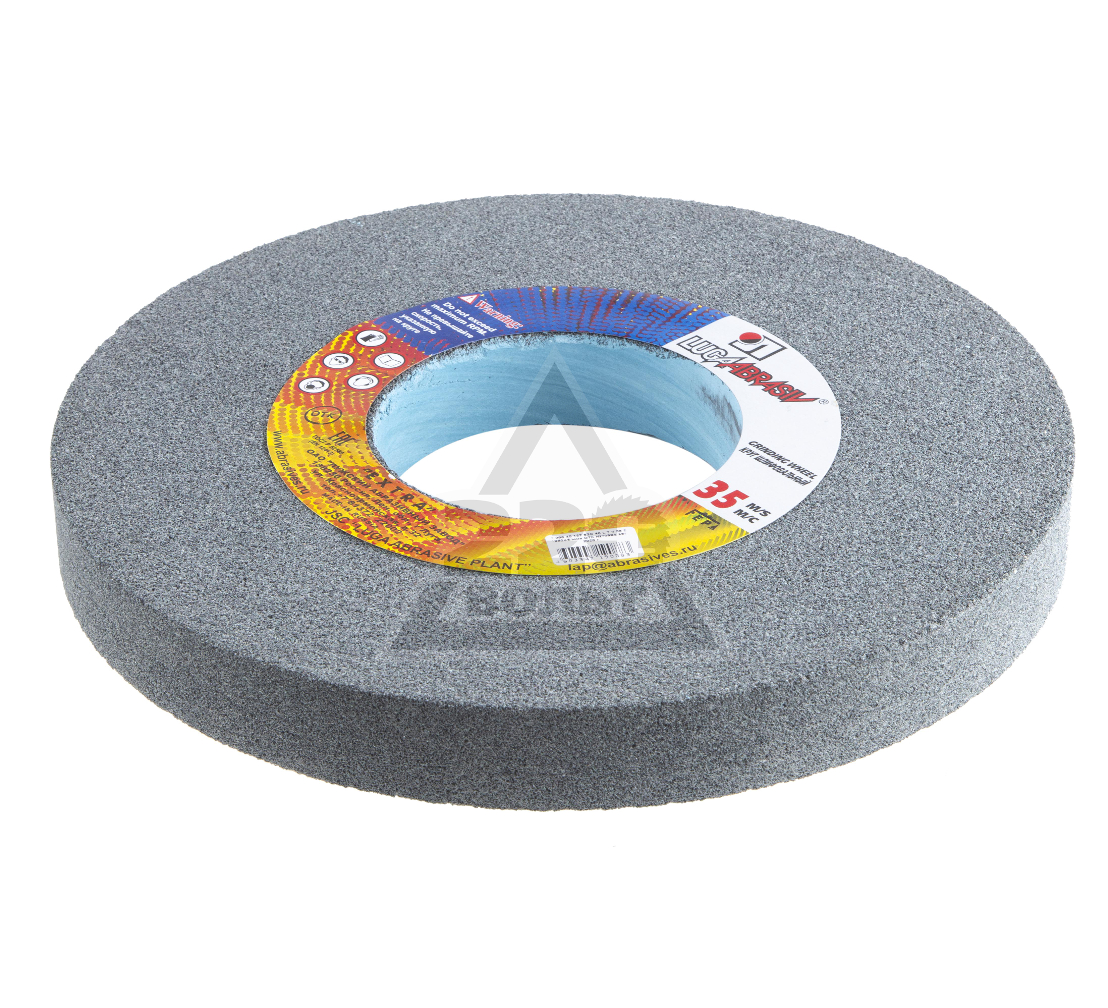 Круг шлифовальный ЛУГА-АБРАЗИВ 1  350  Х 40 Х 127 63С 40 K,L