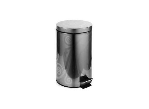 Ведро для мусора WESS (Numkesh V03-01) с педалью, серебро
