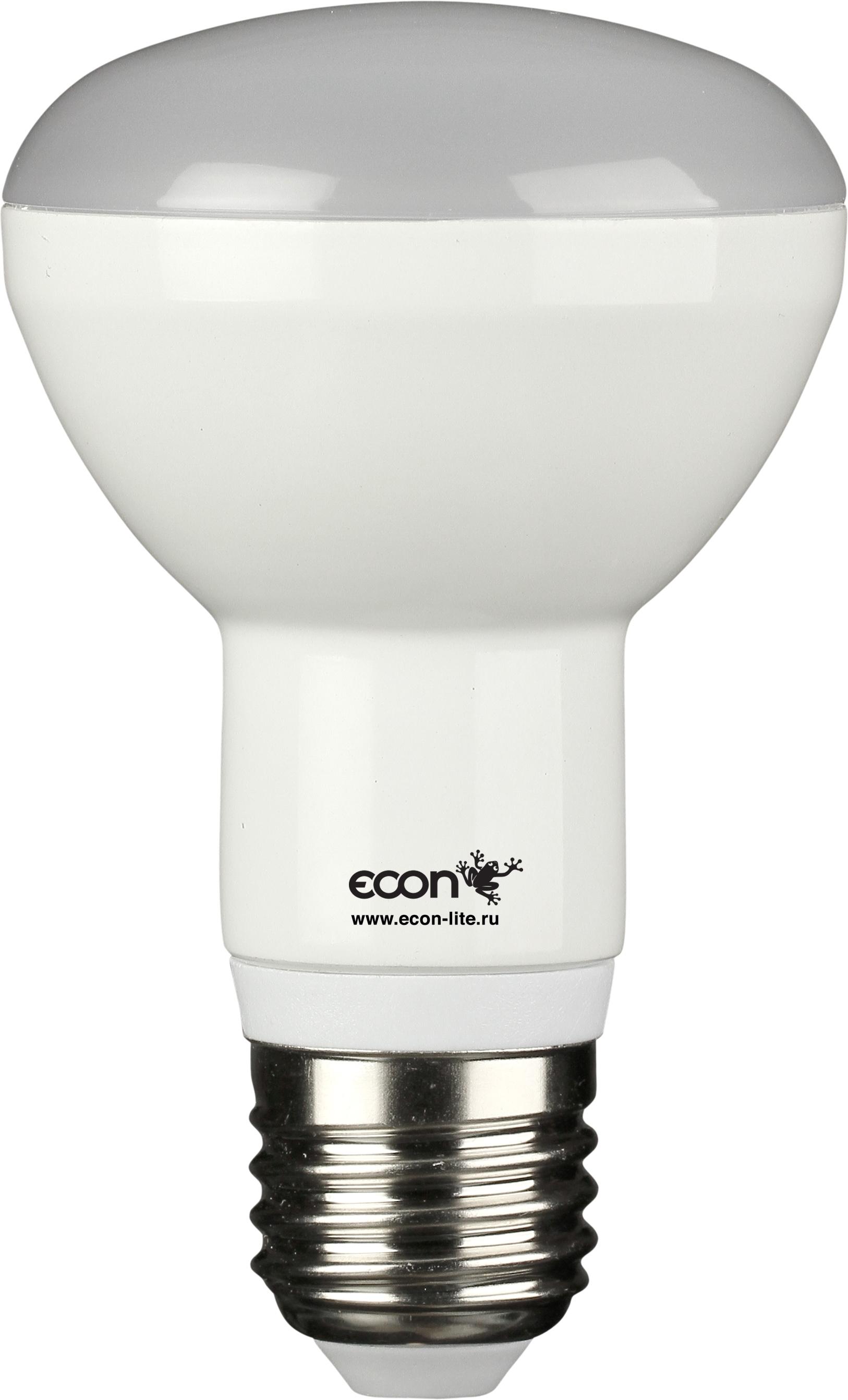 Купить Лампа светодиодная Econ Led r63 8Вт e27 4200k