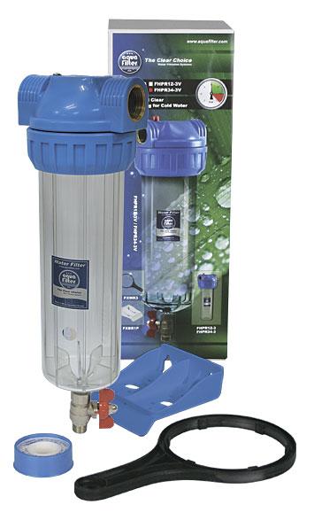 Фильтр магистральный для воды Aquafilter Fhpr12-3v_r