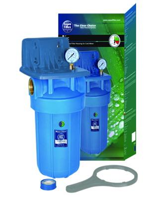 Aquafilter - Фильтр магистральный для воды Aquafilter Fh10b1-b-wb (563)
