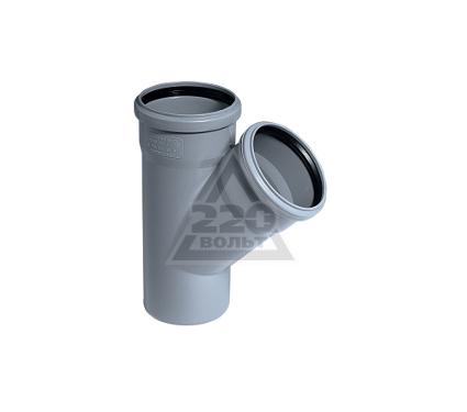 Тройник OSTENDORF 50х40мм 45 градусов