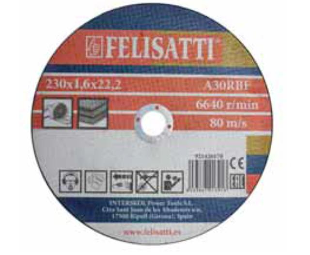 цена на Круг отрезной Felisatti 230х1.6х22 921420170