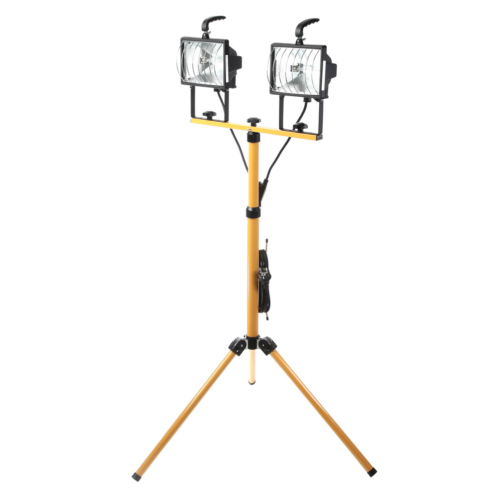 Фото 1/2 2x500Вт nfl-t2h2-500-r7s/bly, Прожектор
