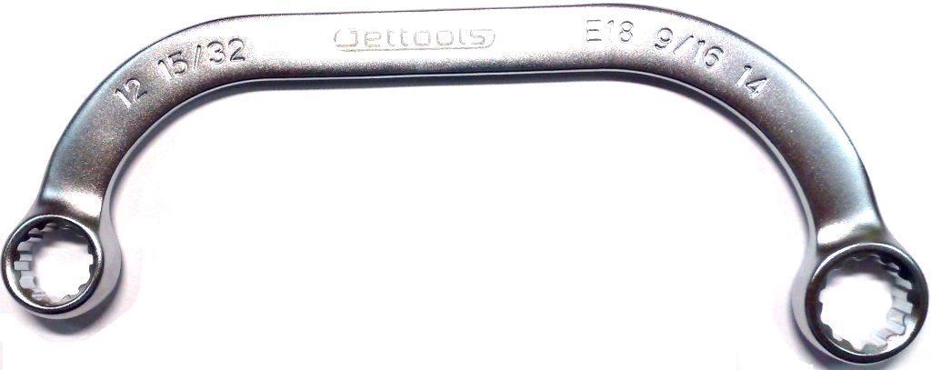 Ключ гаечный комбинированный 14х16 Jettools B9-4-1416 (14 / 16 мм) car trunk mat cargo liner for honda crosstour jade fit avancier spirior crv cr v hrv hr v vezel accord civic 2018 2017 2016 2015