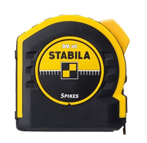 Рулетка Stabila 17740 bm 40 брелок рулетка квадратный пластик оранжевый