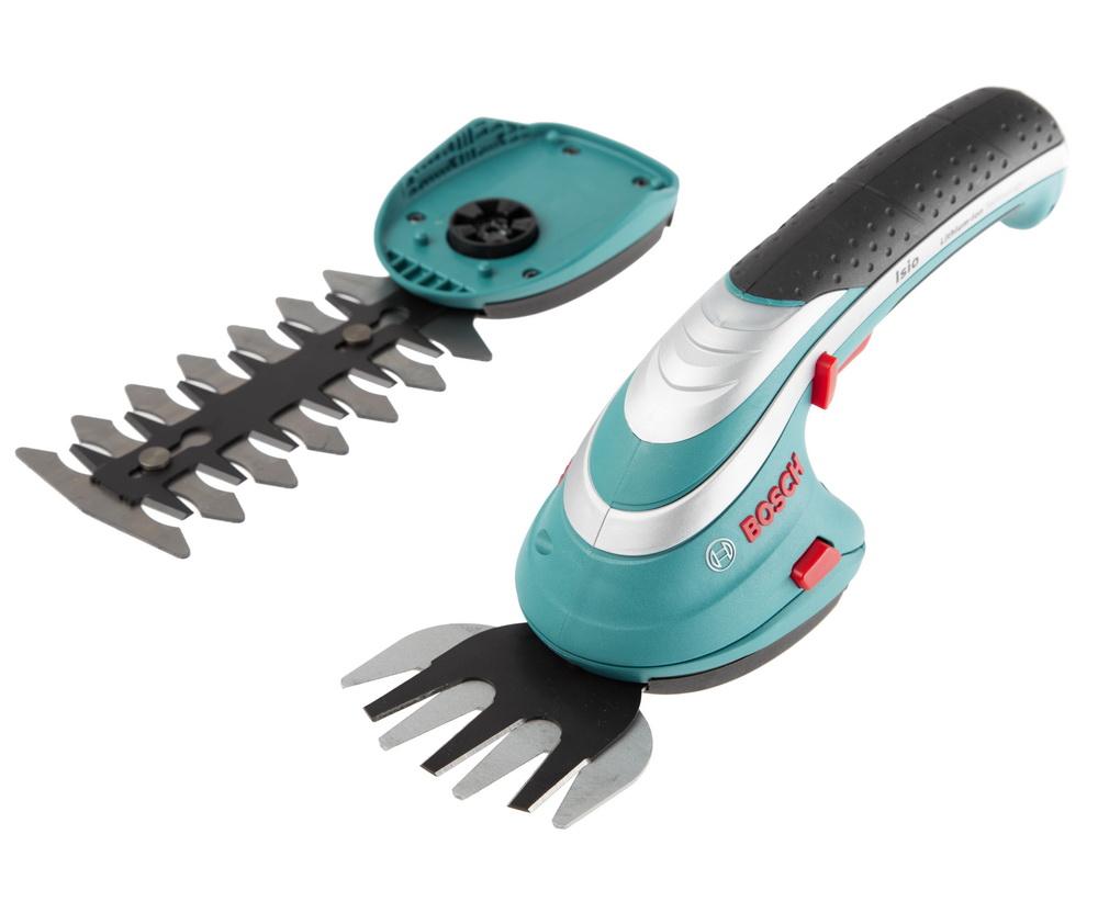 Аккумуляторные ножницы Bosch Isio (0.600.833.102) аккумуляторные ножницы для травы bosch isio 3 чехол 0600833100
