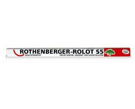 Припой Rothenberger Rolot s5 cp 104 40502 развальцовщик rothenberger 222401r