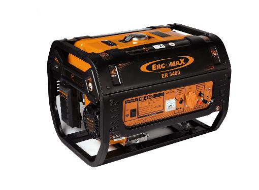 Бензиновый генератор ERGOMAX ER 3400