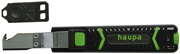 Нож строительный Haupa 200031 инструмент для снятия оболочки haupa 200031