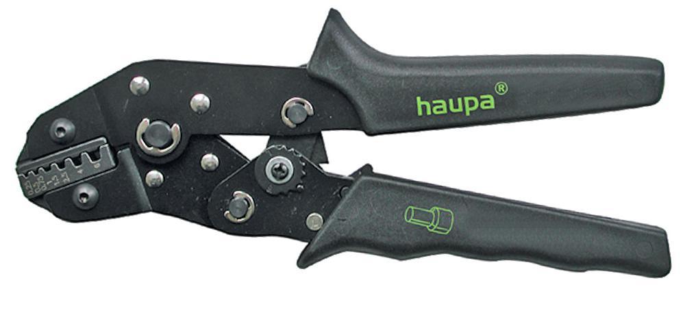 Пресс-клещи для обжима наконечников Haupa 211650