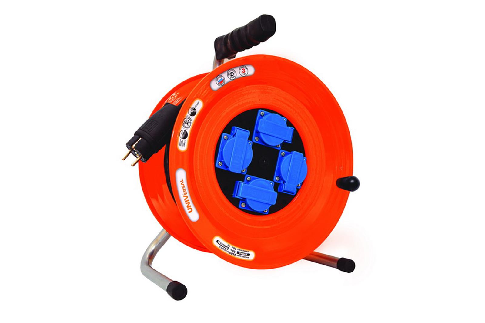 Удлинитель Universal ВЕМ-259 КГ 3*1,5 4гнезда 50м силовой удлинитель universal вем 259 ip 44 термо кг 3 1 5 50м 9632974