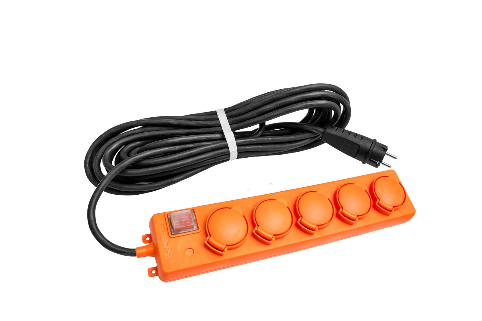 Удлинитель Universal У10-026 ip-44 КГ 3*1,5 5гнезд 10м