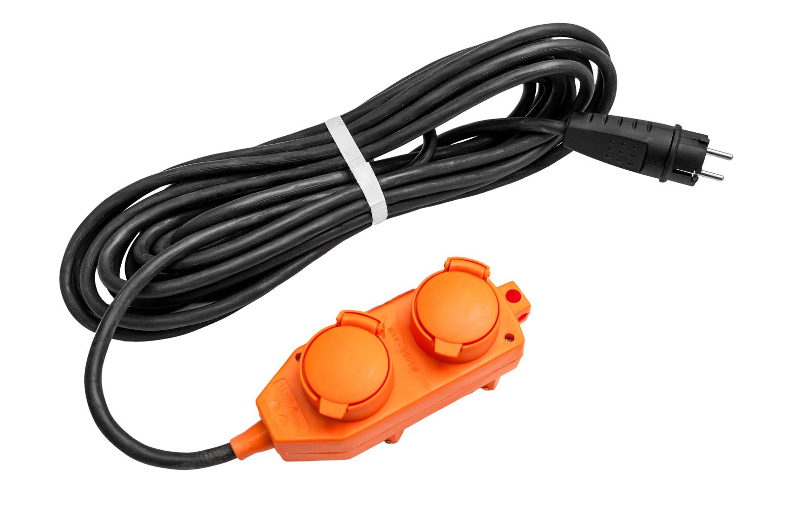 Удлинитель Universal У16-040 ip-44 КГ 3*1,5 4гнезда 10м