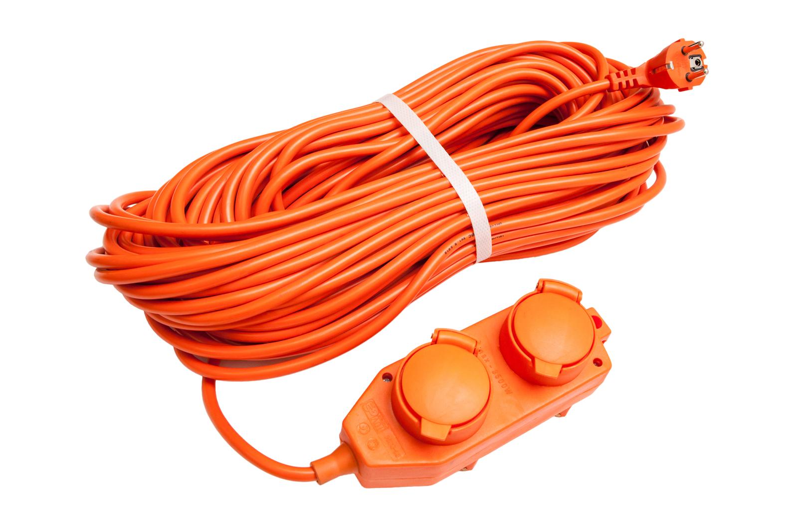 Удлинитель Universal У16-040 ip-44 ПВС 3*1,5 4гнезда 20м силовой удлинитель universal вем 250 термо пвс 2 0 75 20м 9634146