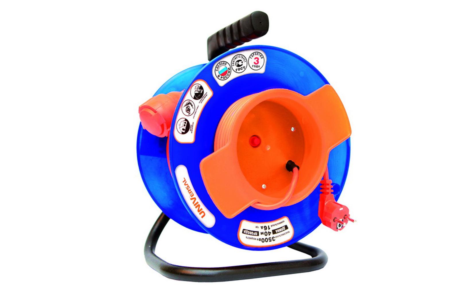 Удлинитель Universal У10-027 термо ПВС 3*1 1гнездо 50м