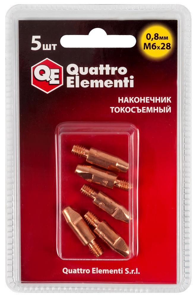 Наконечник Quattro elementi M6x28 quattro elementi