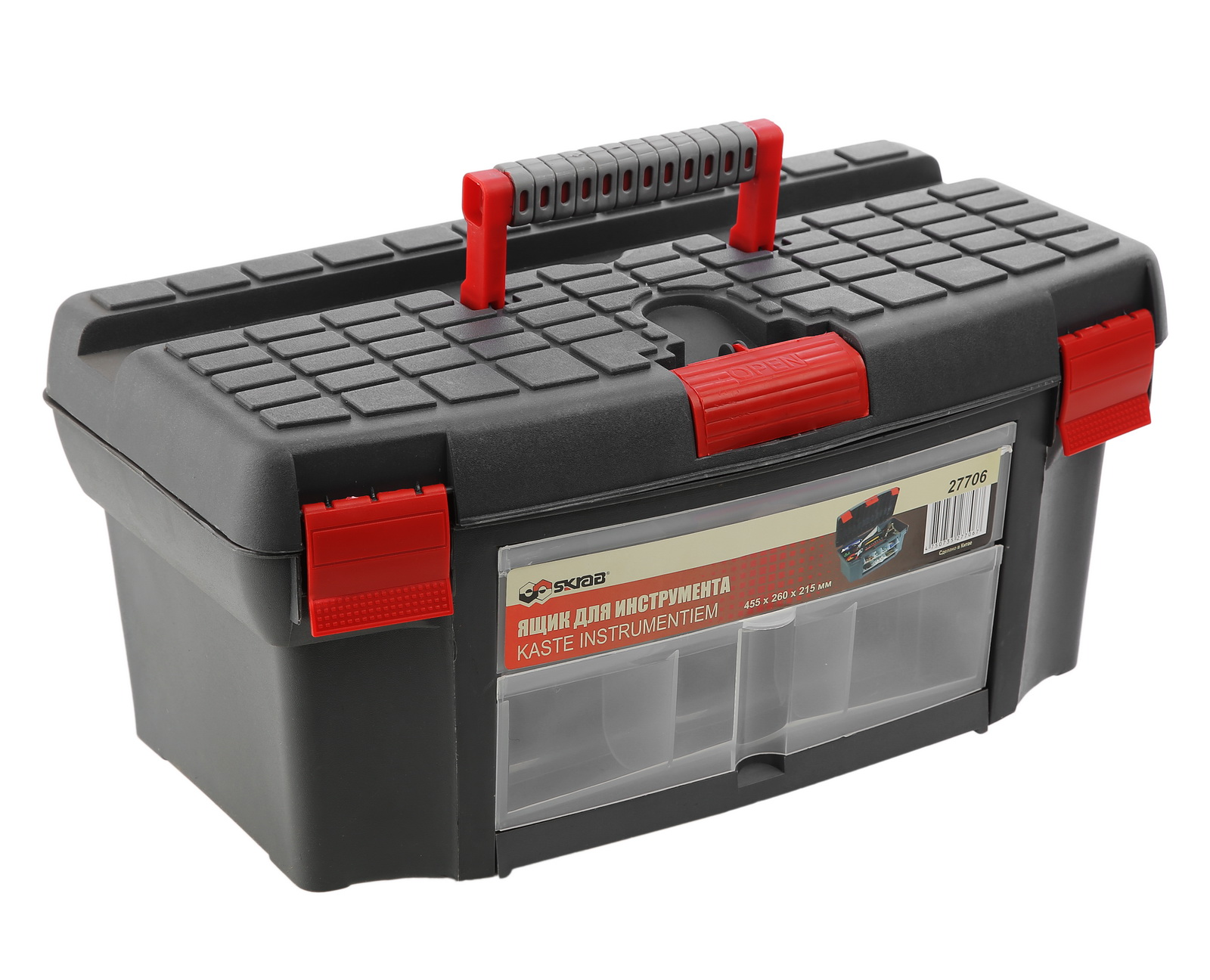 Ящик для инструментов Skrab 27706 ящик для инструментов truper т 15320