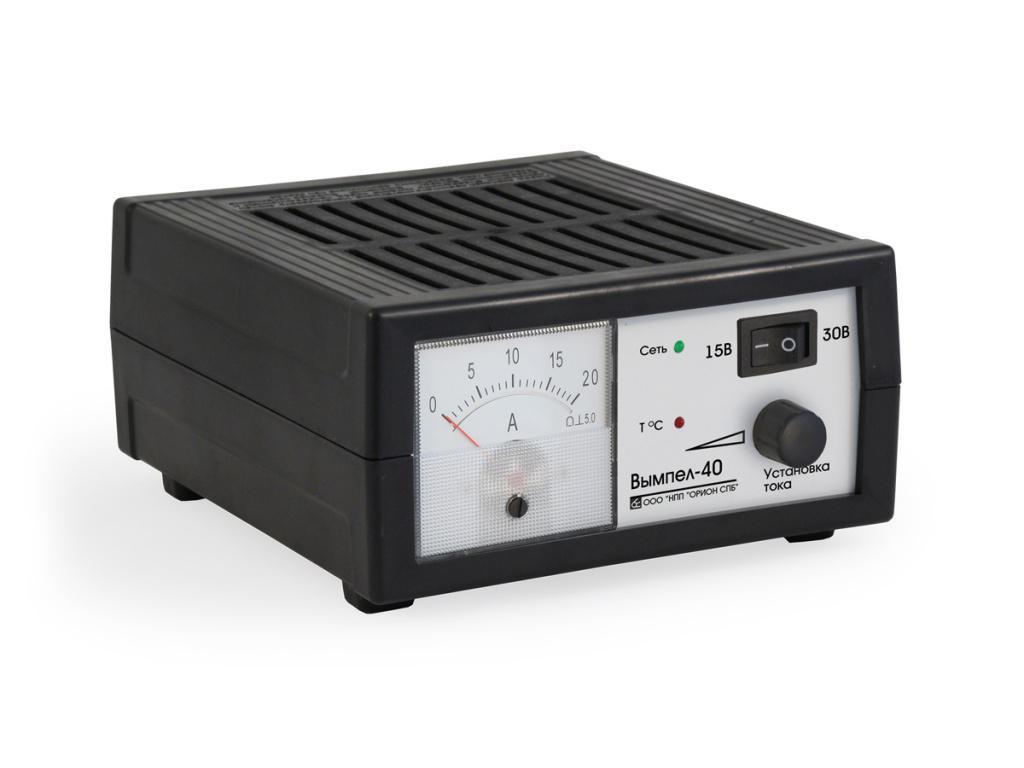 Зарядное устройство ОРИОН Вымпел-40 зарядное устройство орион 265