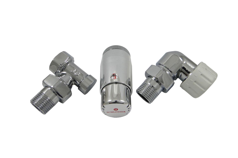 Термостатический комплект Schlosser Dn15 gz1/2 x gw1/2 от 220 Вольт