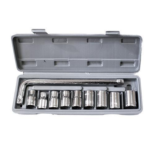 Набор торцевых ключей Kroft 203010 набор ключей kroft 210106 8 17 мм