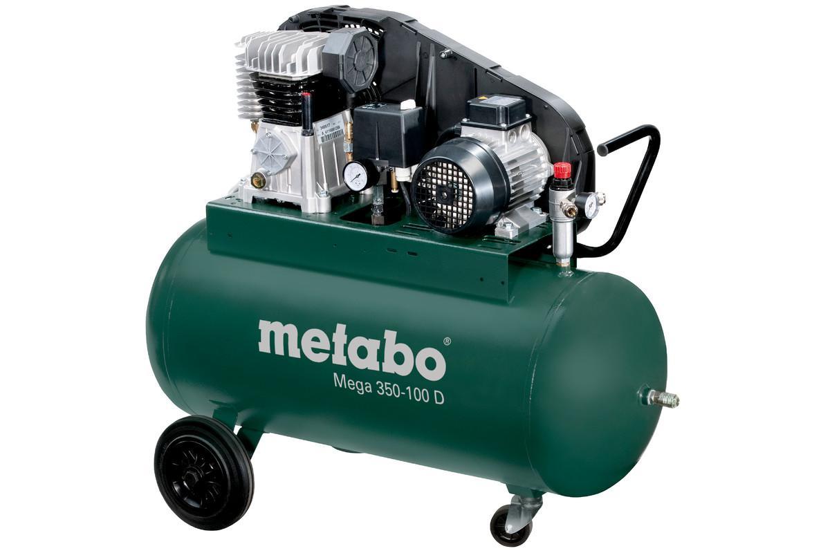 Компрессор поршневой Metabo Mega 350-100 d (601539000) цена и фото