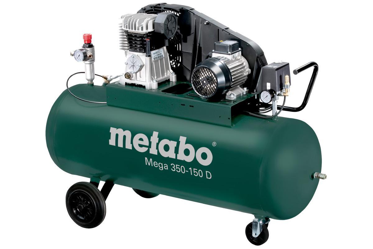 Компрессор поршневой Metabo Mega 350-150 d (601587000) цена и фото