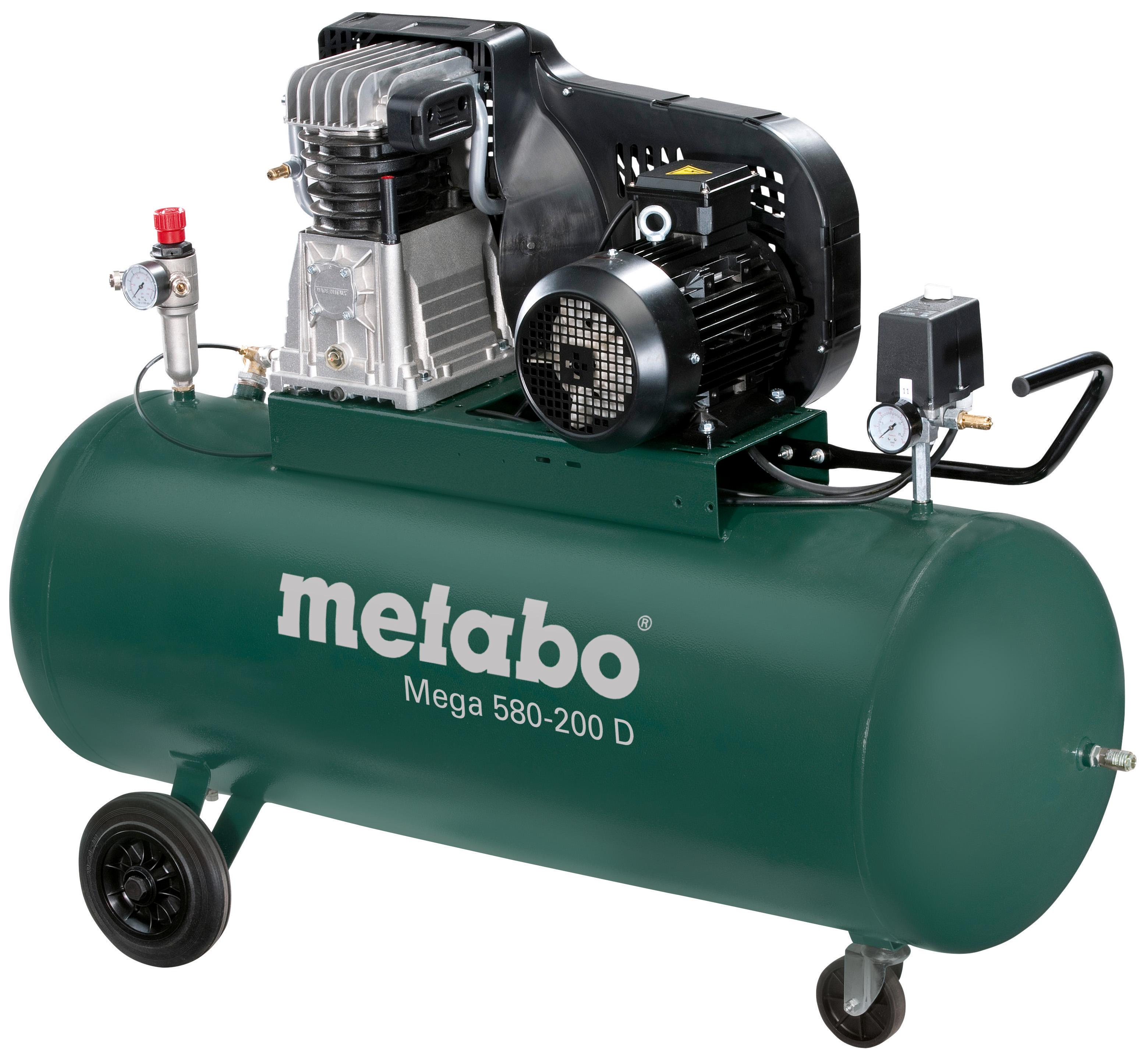Компрессор поршневой Metabo Mega 580-200 d (601588000)