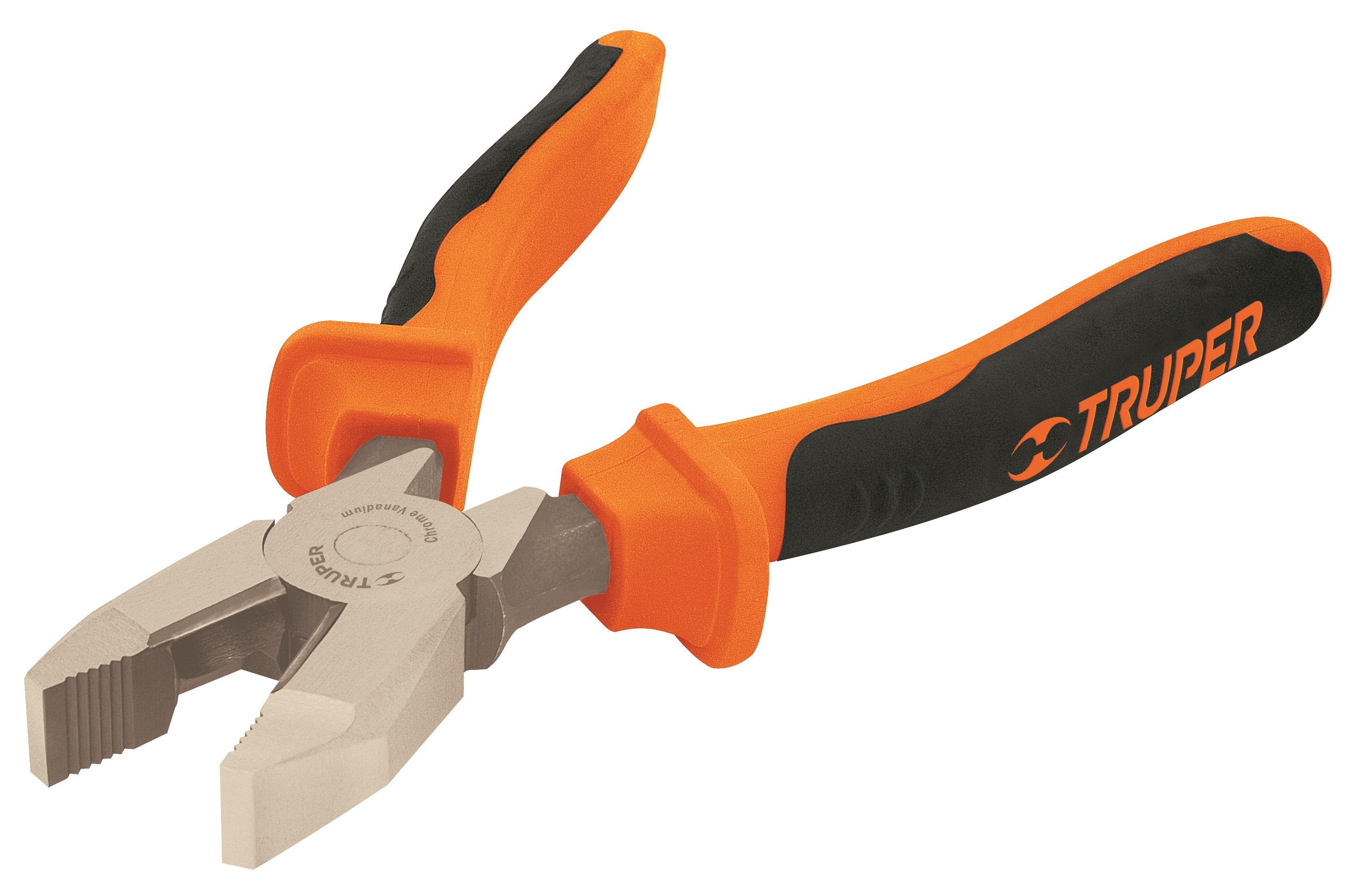 Плоскогубцы диэлектрические Truper T200-8x 12350 ножницы для живой изгороди 10 truper tb 17 31476