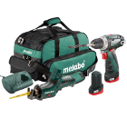 ����� METABO Combo Set 2.4 10.8� LiION: BS+ASE+2x2.0��