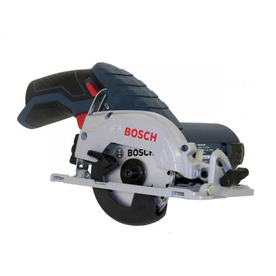 Аккумуляторная циркулярная пила Bosch Gks 12v-26 professionali БЕЗ АКК. и З/У (0.601.6a1.001) дисковая пила bosch gks 65 gce 0601668901