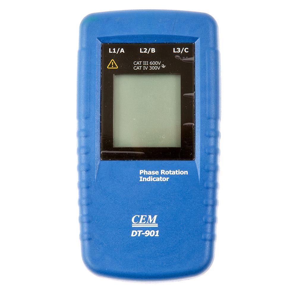 Фото 3/3 DT-901, Индикатор порядка чередования фаз