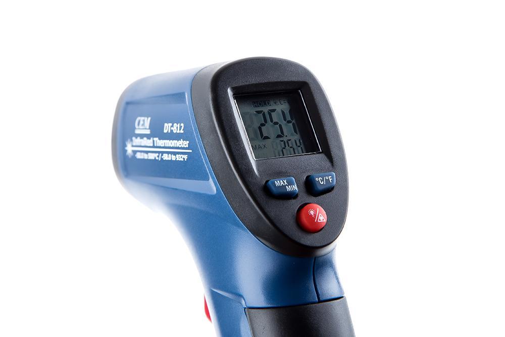 Термометр лазерный Cem Dt-812