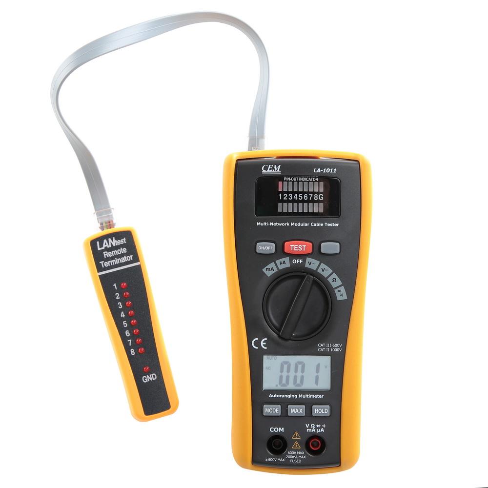 Мультиметр цифровой Cem La-1011 детектор cem la 1014