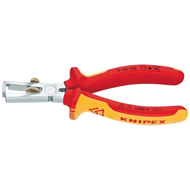 Купить Щипцы для зачистки электропроводов Knipex Kn-1106160