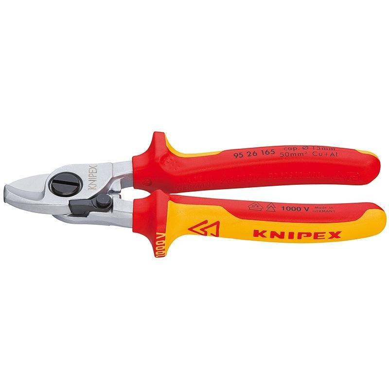 Кусачки Knipex Kn-9526165 боковые кусачки knipex kn 7405140