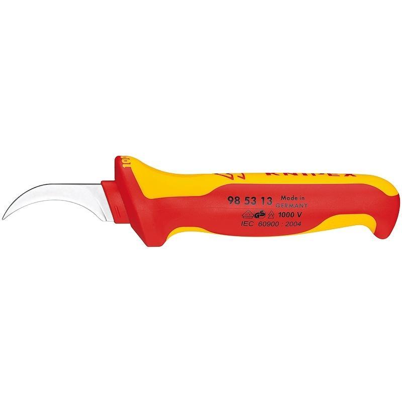 Нож Knipex Kn-985313 knipex kn 950221 ножницы для пластмассы