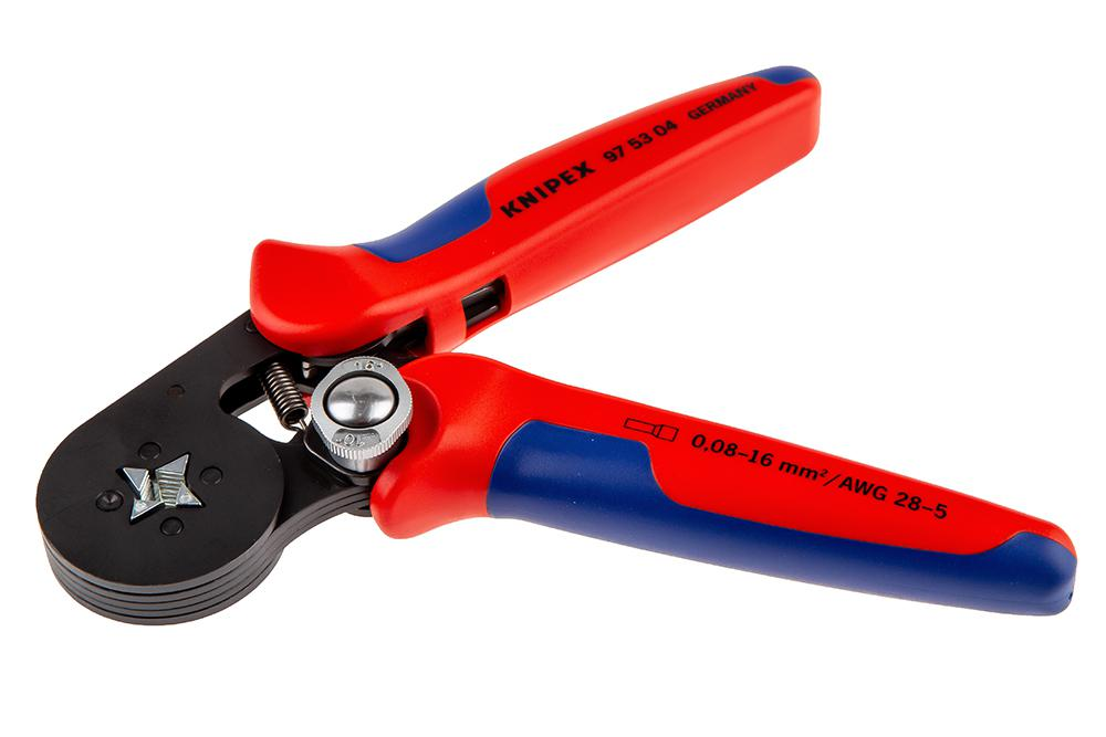 Пресс-клещи для обжима наконечников Knipex Kn-975304